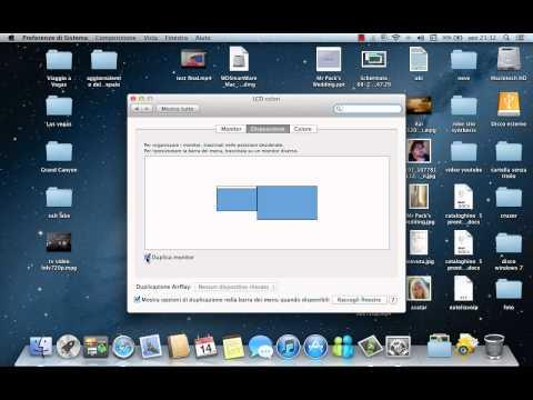 Come collegare il Mac alla vostra TV