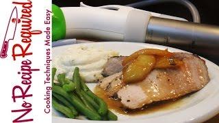 Sous Vide Pork Chop - Nomiku Review - NoRecipeRequired.com