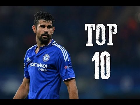 Diego Costa - Top 10 Goals For Chelsea FC - HD