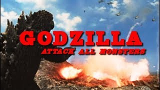 Godzilla - Attack All Monsters (Sci-Fi, Action in voller Länge, ganzer Film auf Deutsch)