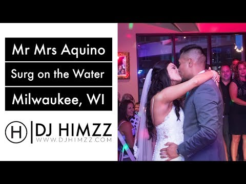 Milwaukee Wedding DJ   Surg On The Water Wedding Venue   DJ Himzz