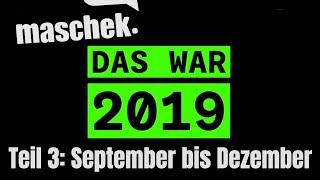 Maschek LIVE: Das war 2019 – Teil 3: September bis Dezember