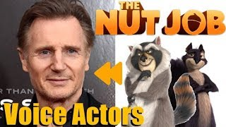 """The Nut Job"" (2014) Voice Actors and Characters"