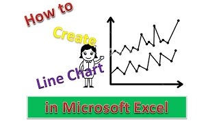 How to Use of Line Charts in Microsoft Excel : Excel Tips and Tricks [Urdu / Hindi]