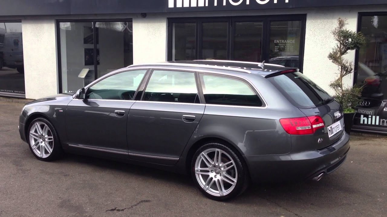 Audi A6 Avant 20 Tdi Sline Le Mans For Sale At Hillmore In Leicester   Youtube