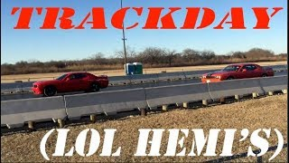 Ripp SuperCharged V6 VS. ScatPack and SRT8 (Track day)