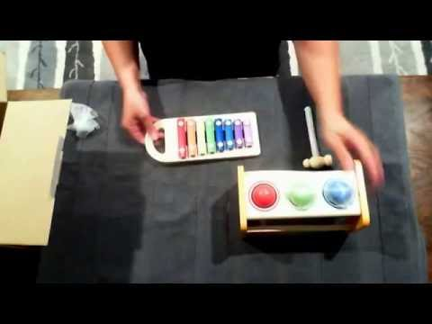 Hape Toy Xylophone Pound and Tap