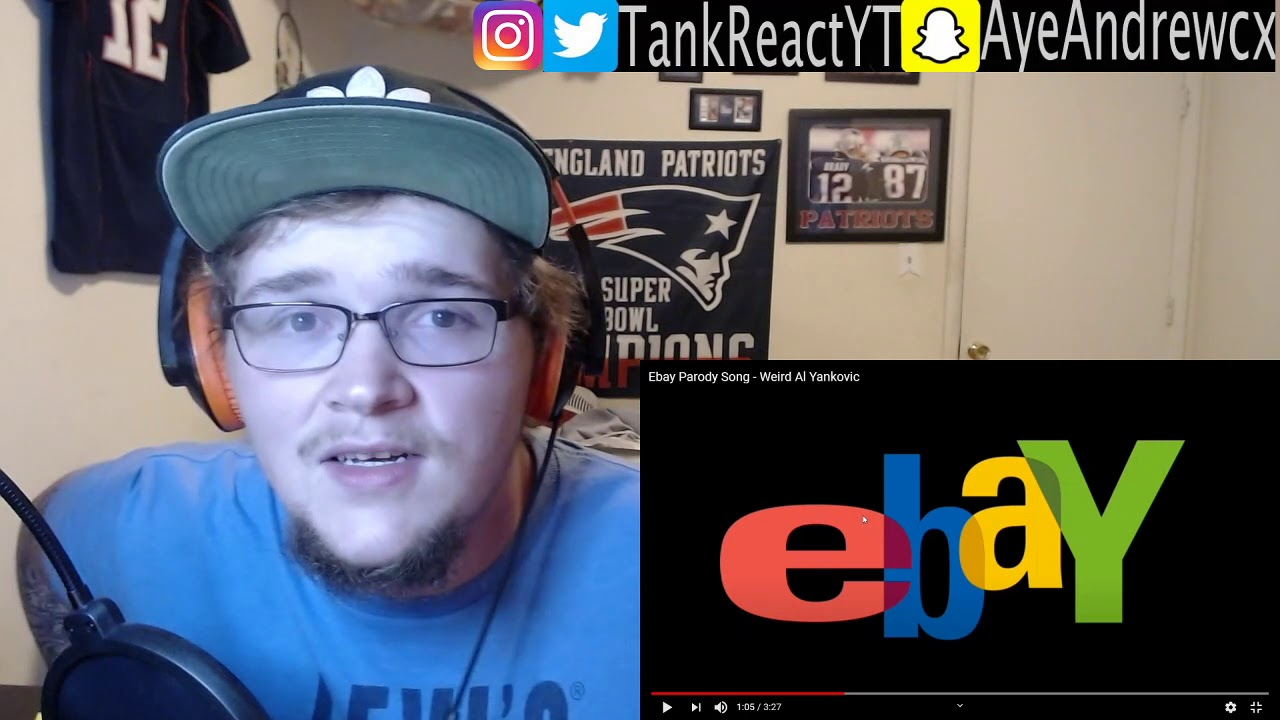 Ebay Parody Song Weird Al Yankovic He Can Do It All Reaction Youtube