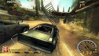 FlatOut 2 PC Gameplay HD