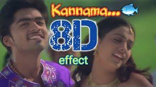 Kannama Kannama || 8D ||surrounding effect song || USE HEADPHONE 🎧 || DUM 🎬 || 😇👈🎧