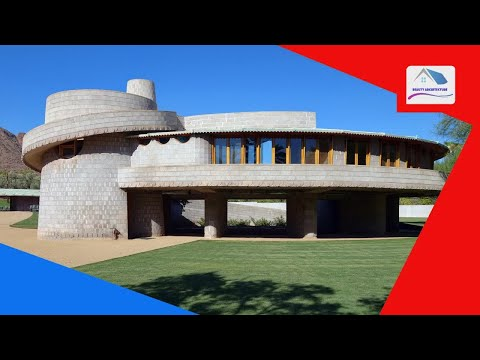 Frank Lloyd Wright house in Phoenix gifted to Taliesin architecture school - Beauty Architecture