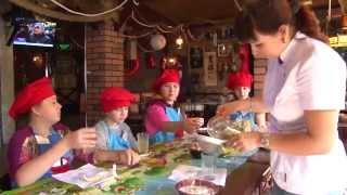 Кулинарный урок для детей  в кафе Поплавок!