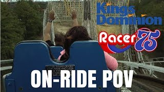 Racer 75 On-Ride POV Kings Dominion 2018