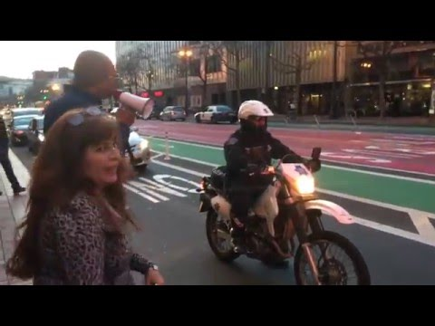 Uber drivers protest 1455 Market st San Francisco
