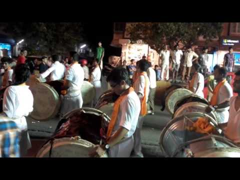 PUNE DHOL#AT SANTACRUZ WEST MUMBAI...