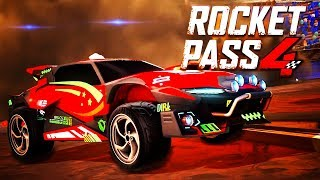 Rocket League - Official Rocket Pass 4 Trailer