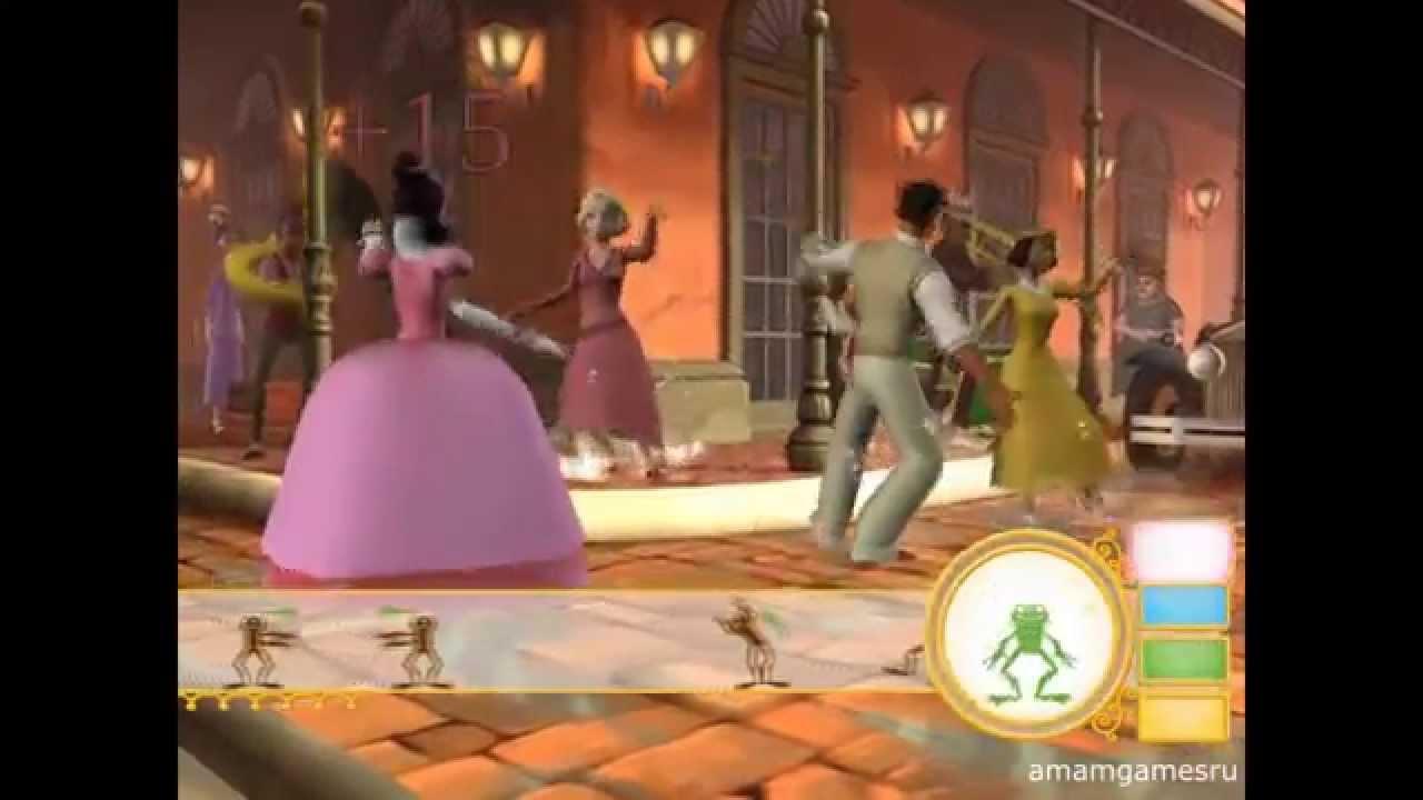 принцесса и лягушка играть