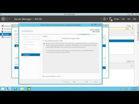 windows server how to create a domain