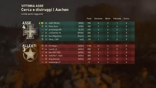 Call of Duty WWII multiplayer mappa AACHEN
