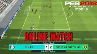 Video PES 2018 MOBILE : Online Match - PRO EVOLUTION SOCCER | ONLINE MULTIPLAYER | PES 18 | download MP3, 3GP, MP4, WEBM, AVI, FLV Januari 2018
