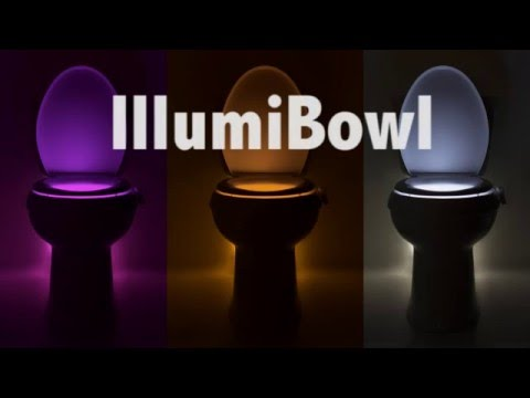 Would you buy a glow-in-the-dark toilet?