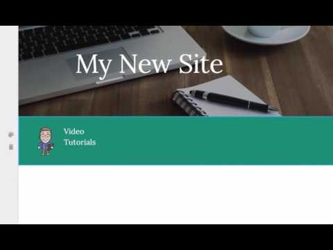 New Google Sites: Overview for New Users
