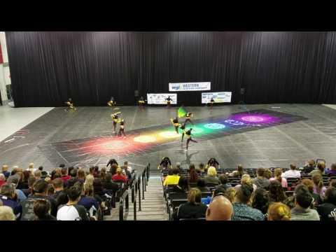 Downey high school Winter Guard  WGI  Las Vegas 2017