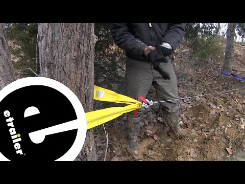 Review of the Erickson Tree Tow Strap for Winches - etrailer.com