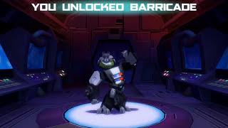 Angry Birds Transformers Barricade unlocked!