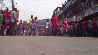 ICC WORLD T20 Bangladesh 2014   Flash Mob Mawlana Bhashani Science & Technology University