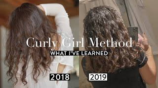 The Curly Girl Method ONE YEAR LATER | Gemary