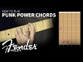How To | Learn to Play Punk Power Chords | Fender