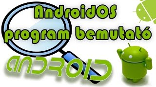 AndroidOS program bemutató - Nagyìtò (mikroszkóp)