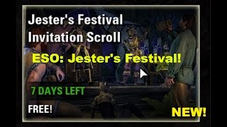 ESO: Jester&#39s Festival! (Ebonheart Pact) We Gonna Steal A Pig!