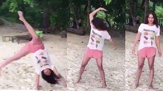 Shraddha Kapoor's Amazing Cartwheel On The Beach