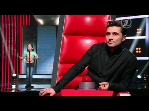 Саида Мухаметзянова В горнице - Отборочный тур - Голос Дети - Сезон 2