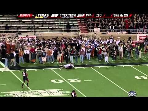 #1 Texas vs. #7 Texas Tech (2008)