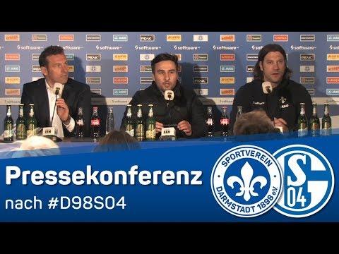 Darmstadt 98 | Pressekonferenz nach dem Heimspiel gegen Schalke