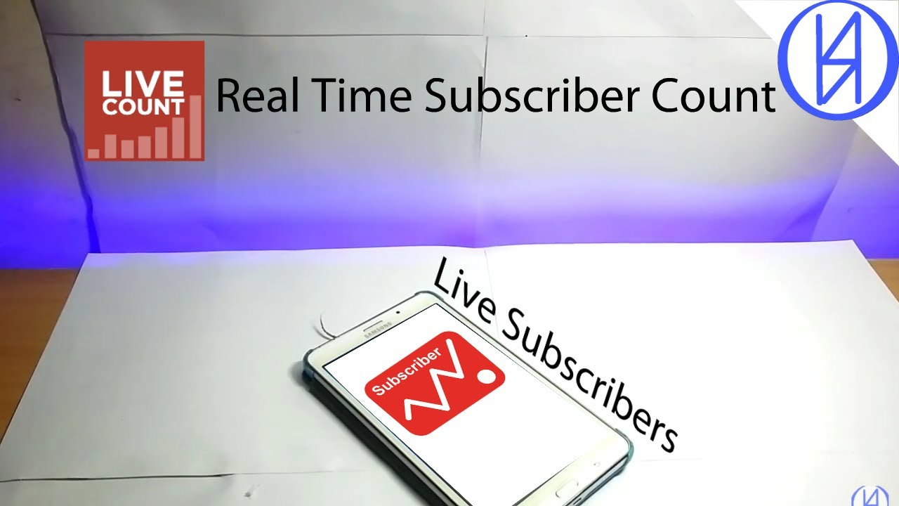 How To See Your Real Time Subscriber Count Tutorial