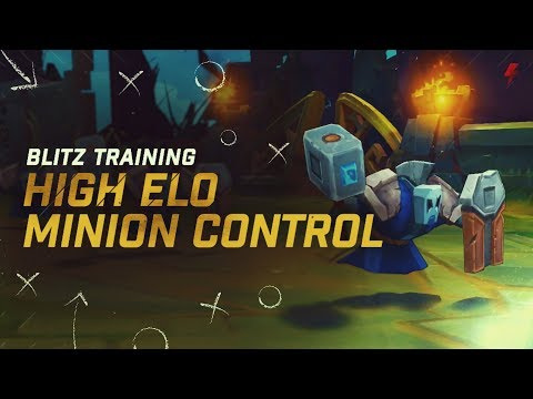 How to control minion waves like high ELO players - Freezing, Slow Pushing, & Fast Pushing Guide