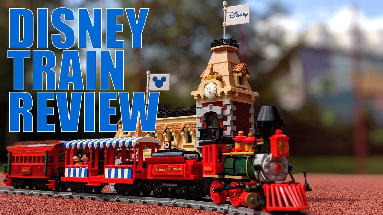 LEGO Disney Train and Station 71044: REVIEW With All Details