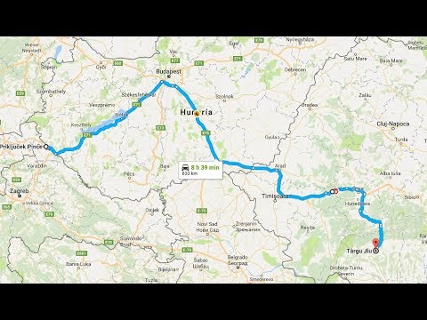 Hungary - Tg. Jiu Timelapse
