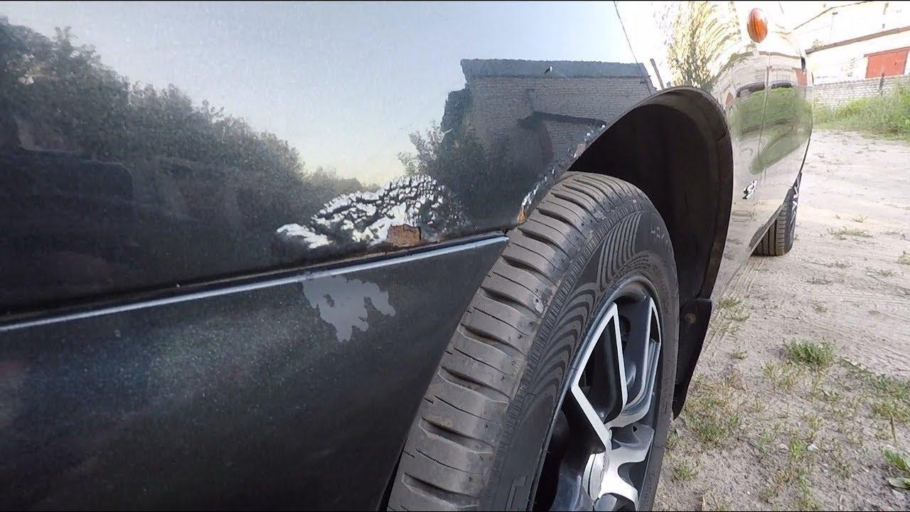 Убираем рыжики с кузова автомобиля своими руками фото 898