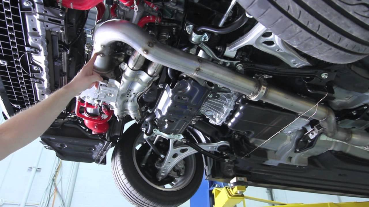 2015 Subaru WRX Mishimoto Product Development: Downpipe ...