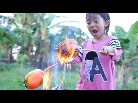 extreme squishy dares little princess shinta ke 1 - bakar squishy - burning squishies
