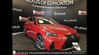 Red 2018 Lexus IS 350 F Sport Series 3 Review