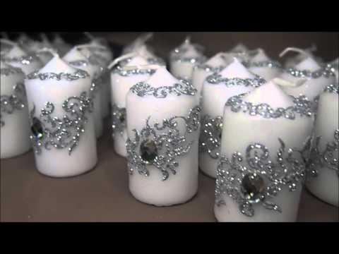 dcoration de mariage personnalise bougies flutes plateau raja henna - Bougie Henn Mariage