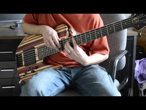 jc basses 6 string single cut rainbow bass youtube. Black Bedroom Furniture Sets. Home Design Ideas