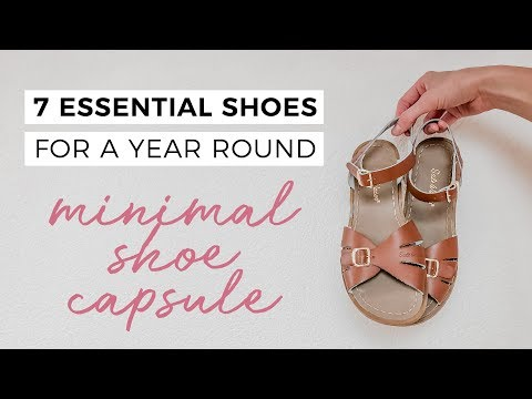 7 ESSENTIAL SHOES: For A Year Round Capsule