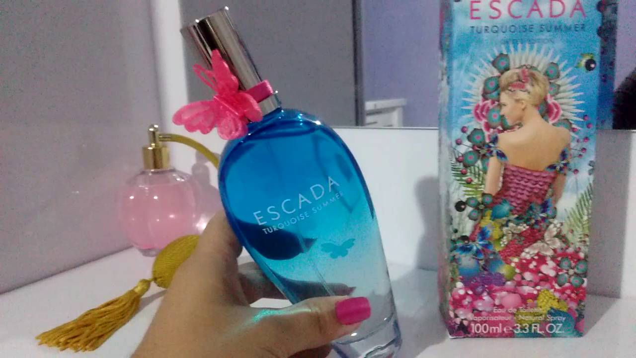 Resenha Escada Turquoise Summer Edt Youtube
